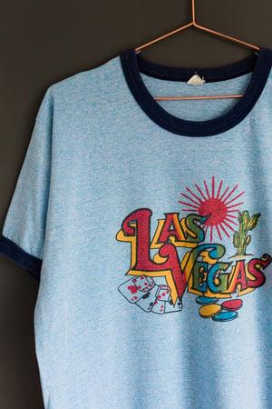 Image of Vintage 1980's Las Vegas Ringer Tee
