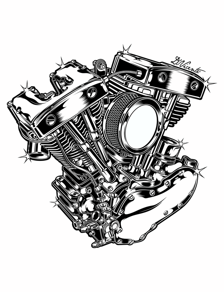 Image of ENGINE SHOVELHEAD 1966