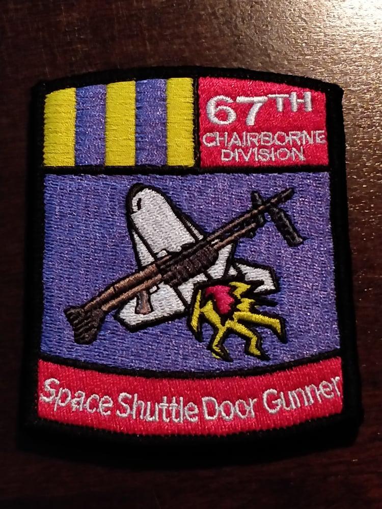 Image of Space Shuttle Door Gunner