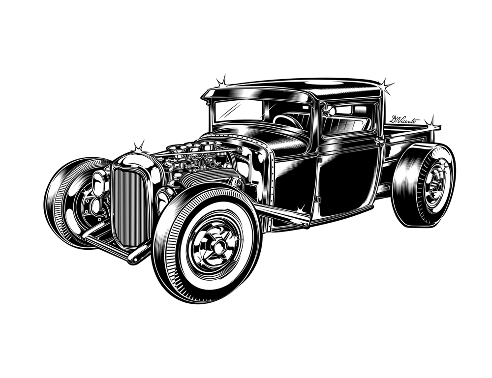 Image of HOT ROD PICK-UP