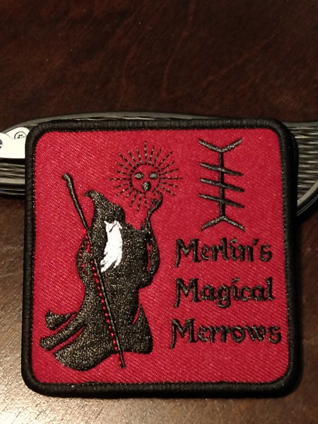 Image of Merlin's Magical Merrows logo patch