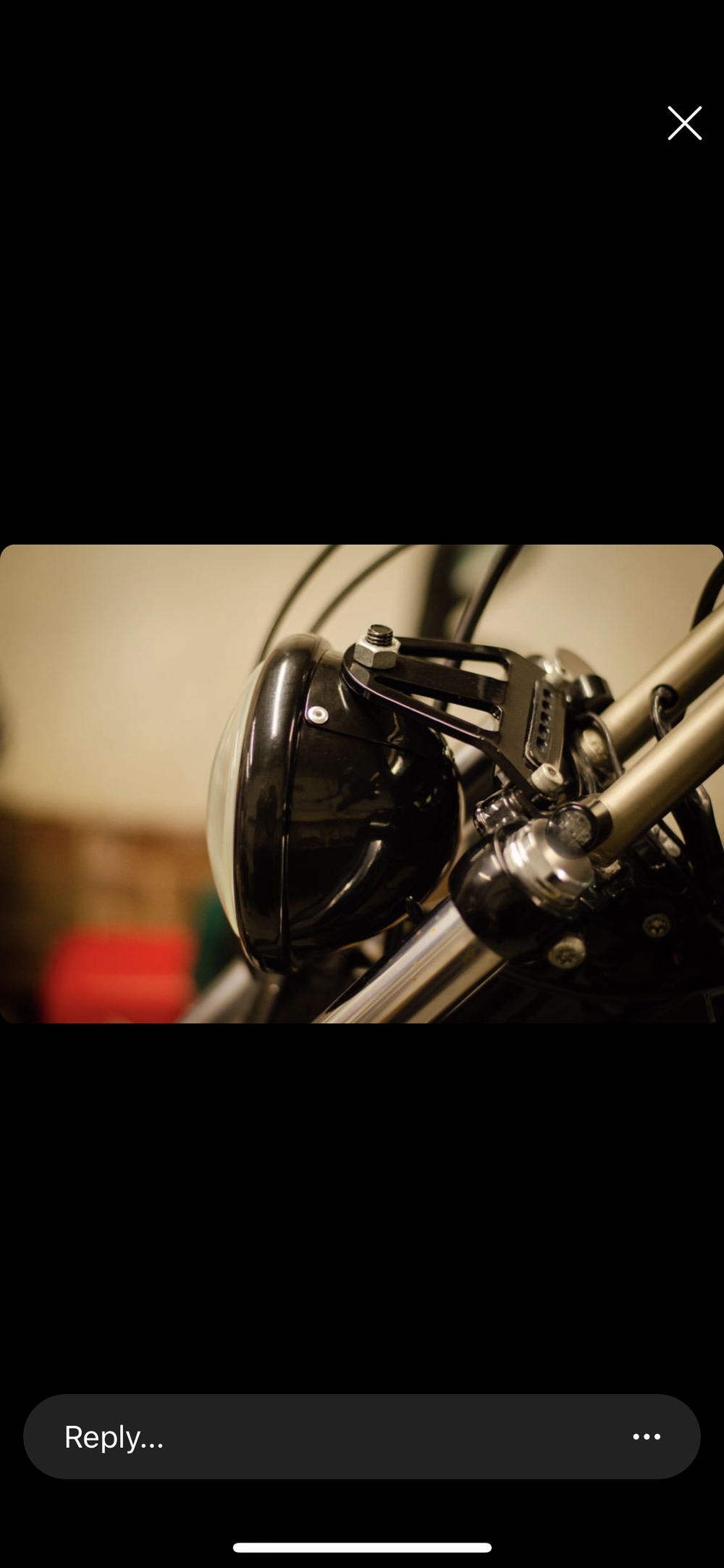 Sportster headlight mount dash light - was £30