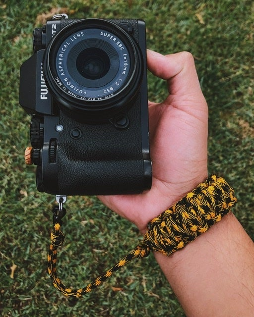 Image of Single color double strap w/ quick release clip attachment