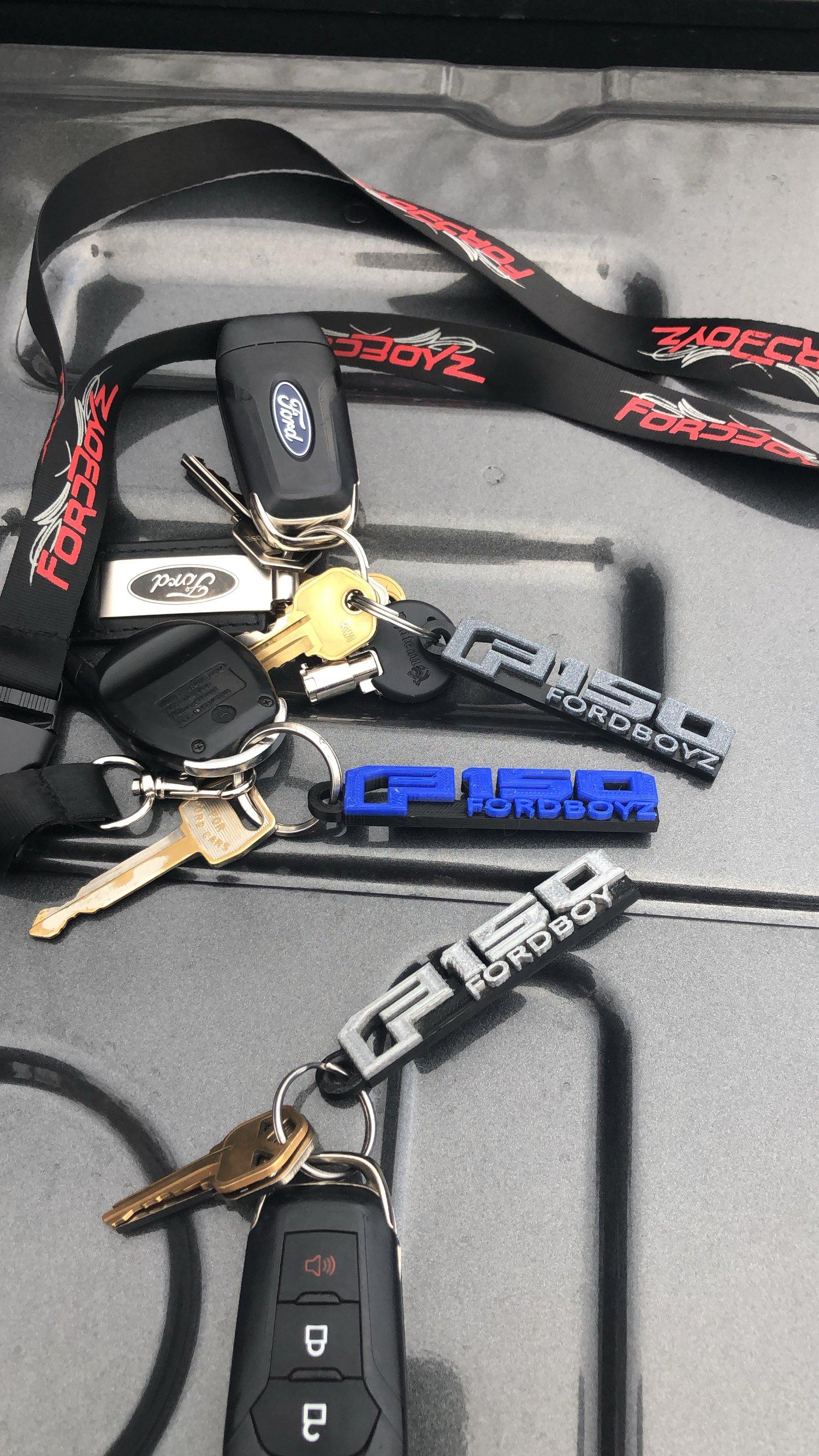 Image of F150 Keychain
