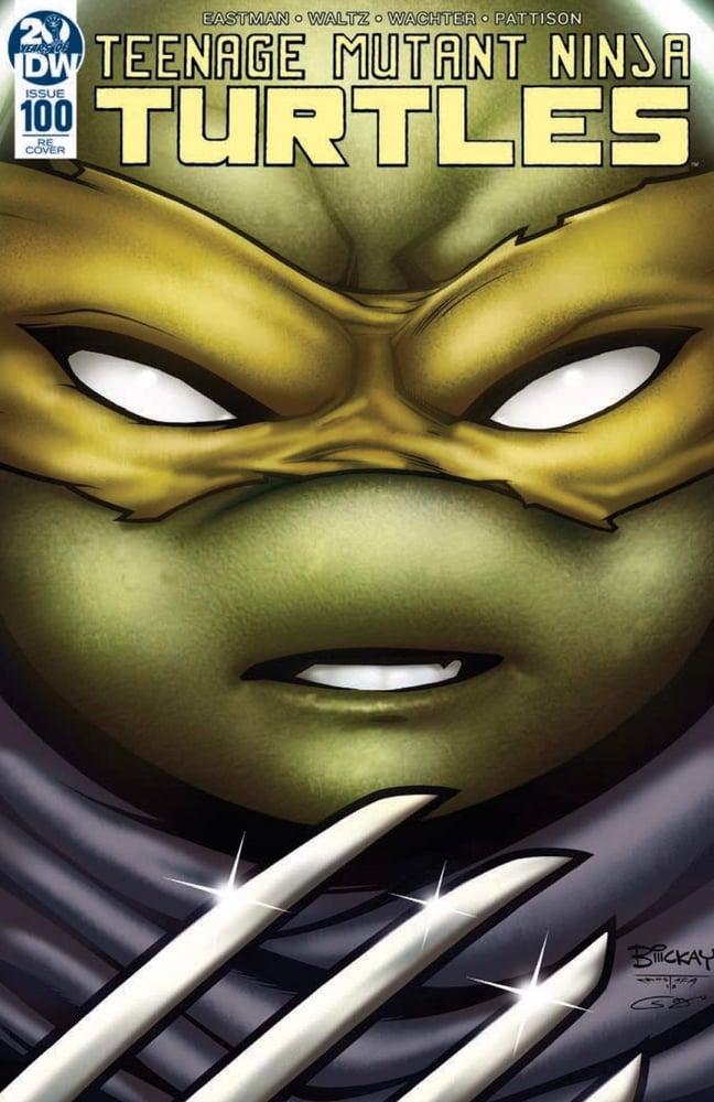 Image of Teenage Mutant Ninja Turtles #100 AOD Exclusive