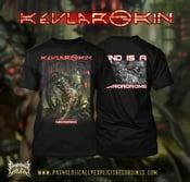 Image of KEVLAR SKIN: NECROROID CD+ T-SHIRT