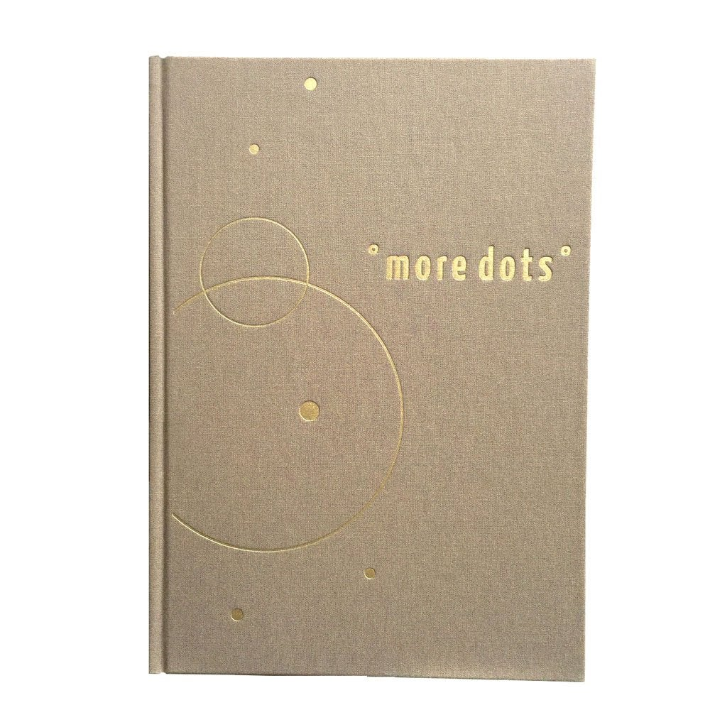 Image of Art book 'more dots' with Dagmar V.