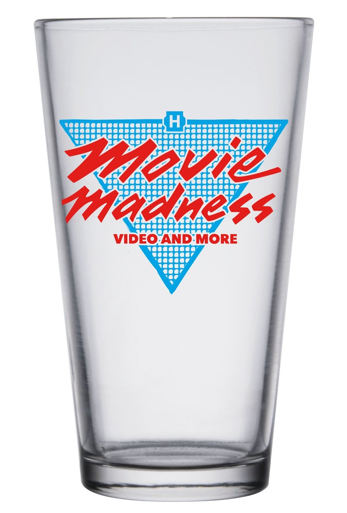 Image of Movie Madness Totally 80s Pint Glass