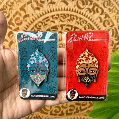 Image of Buddha Pins (2 PACK/ BOTH PINS)