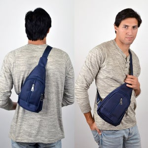 Image of Sling Bag Backpack with Adjustable Strap