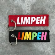 Image of LIMPEH flight tag by Sam Lo