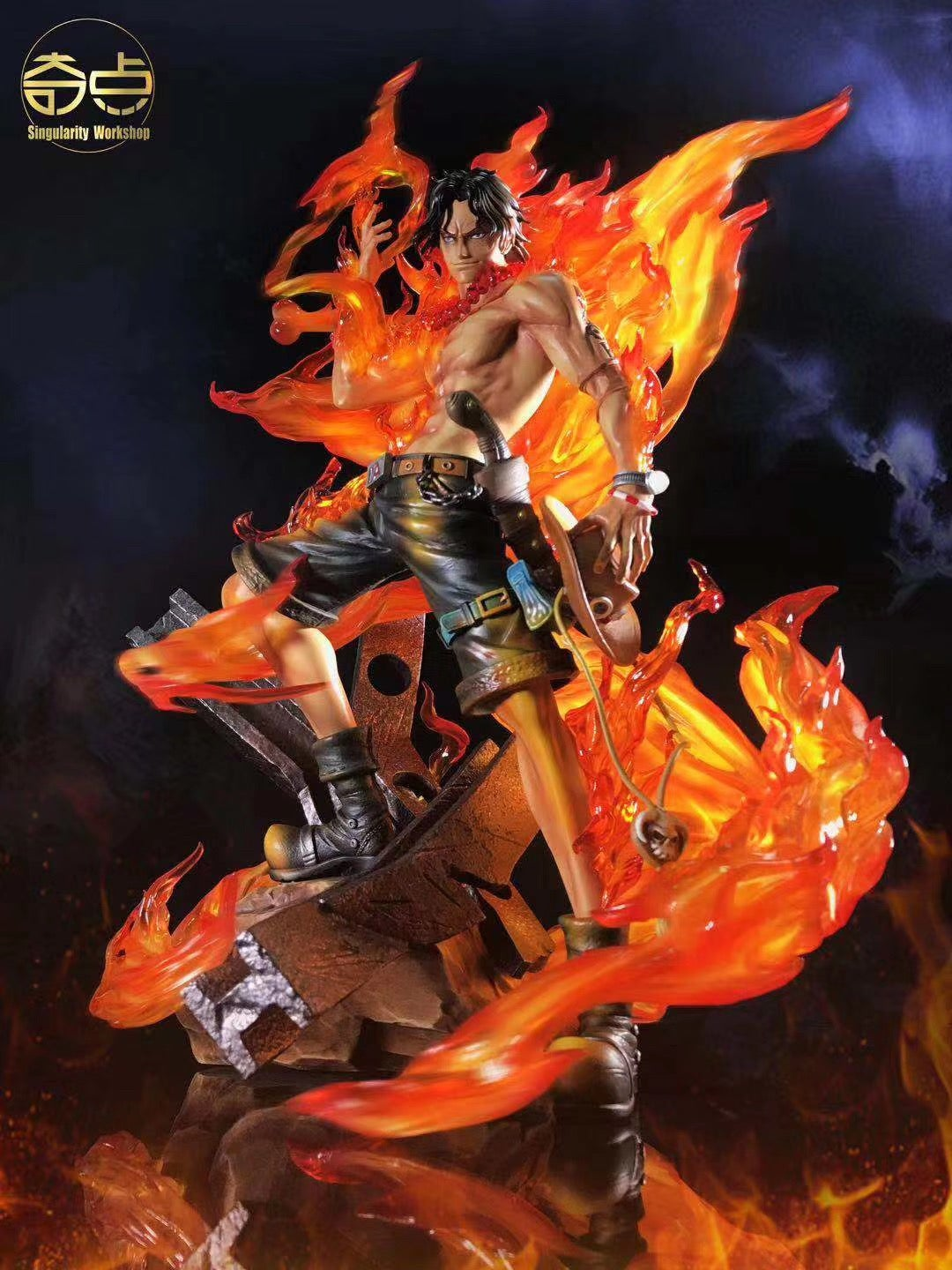 Image of [In-Stock]One Piece Singularity Workshop 1:4 Ace Resin Statue