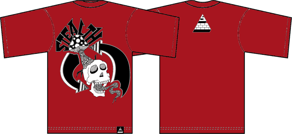 Image of Creative Cycle Tee Blood Red