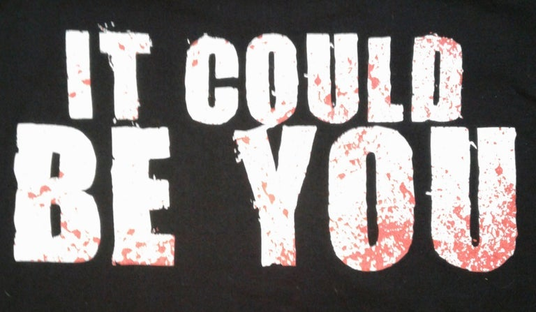 Image of M.M.M.F.D : IT COULD BE YOU reg shirt