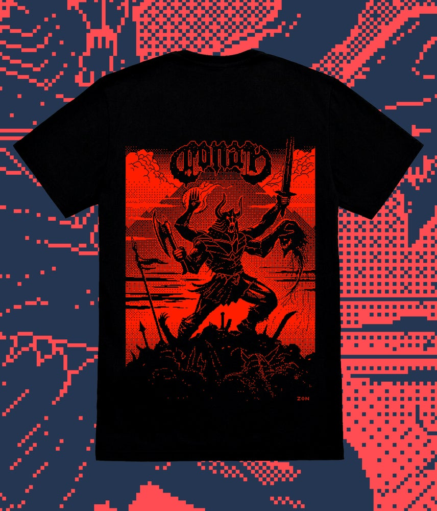 Image of INVINCIBLE DEATH T SHIRT (S ONLY)