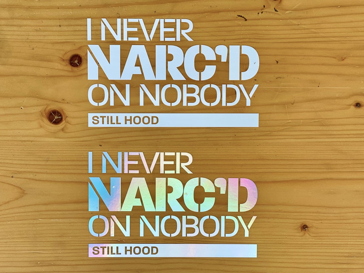 Image of Narc'd Decals