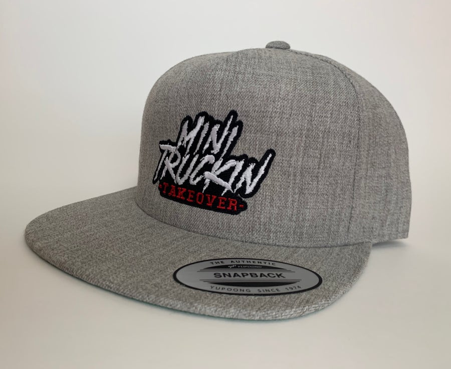 Image of Heather Grey SnapBack