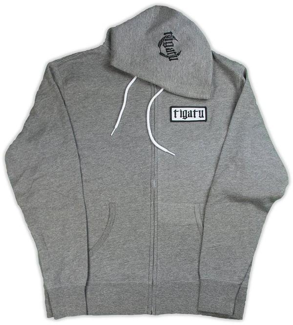 """Image of """"Shop"""" Hoodie - Grey"""