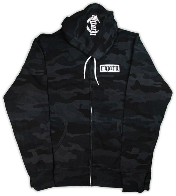Image of Shop Hoodie - Black Camo