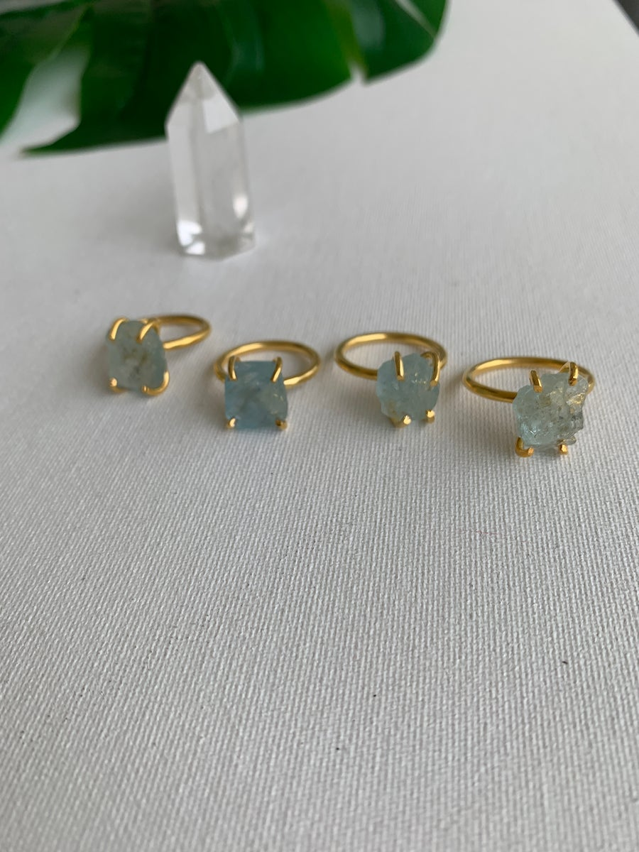 Image of Aqua Dream • Aquamarine Ring
