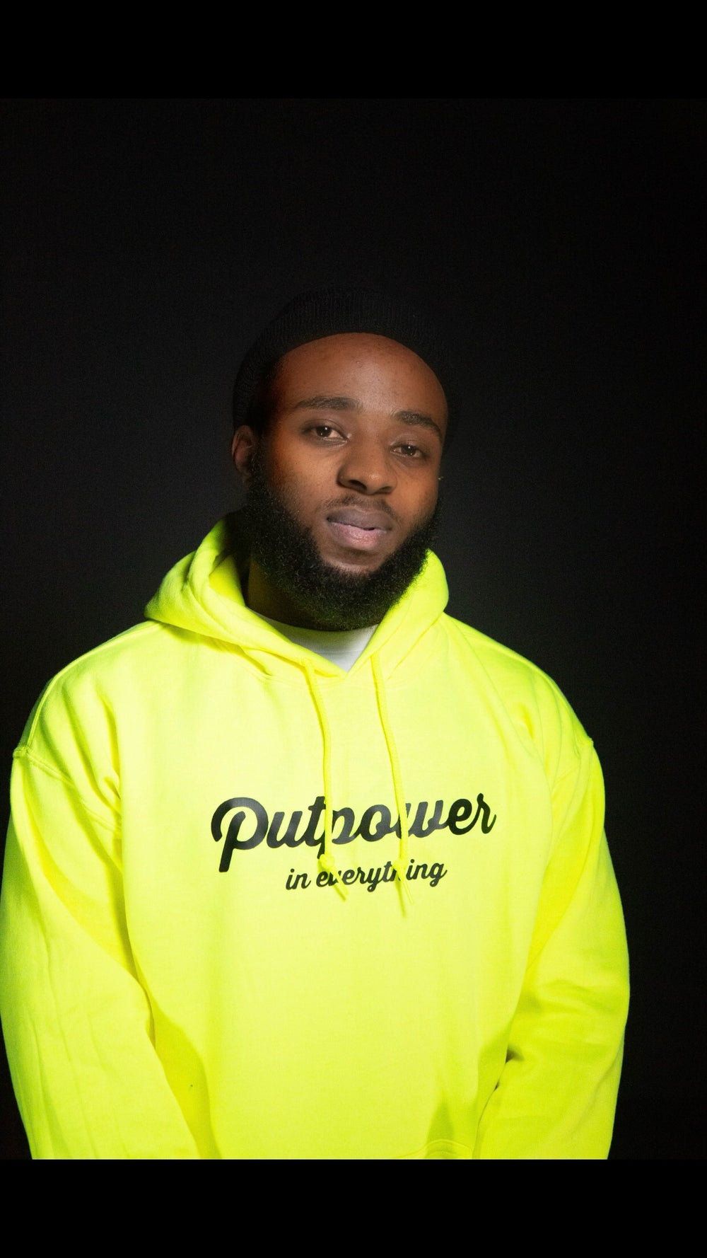Image of PUTPOWER IN EVERYTHING HOODIE