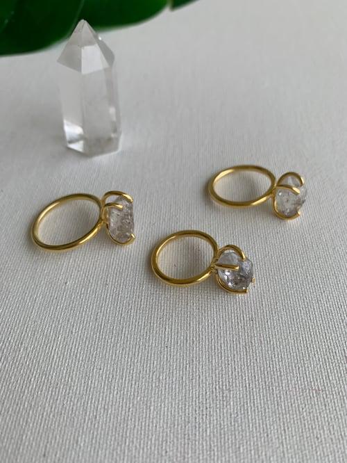Image of HERKIMER LIGHT • Herkimer Diamond Ring