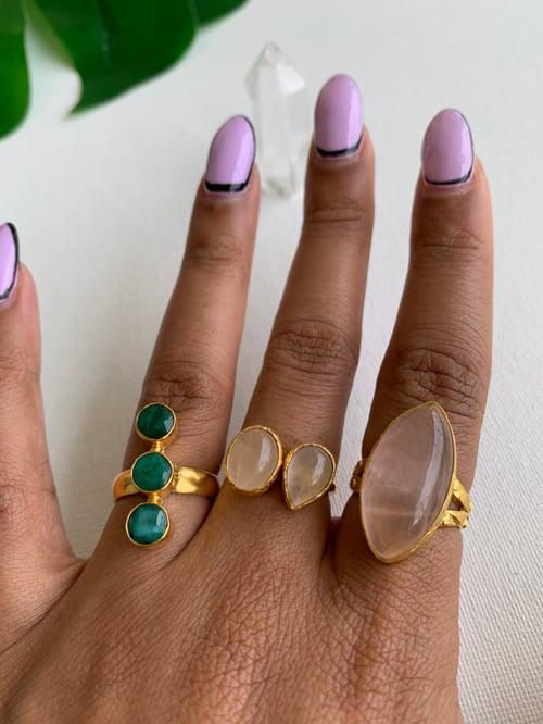 Image of ROSE SEED • Rose Quartz Ring