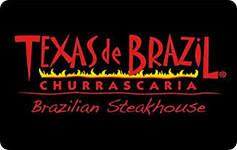 Image of Texas de Brazil eGift card with pin Value $100