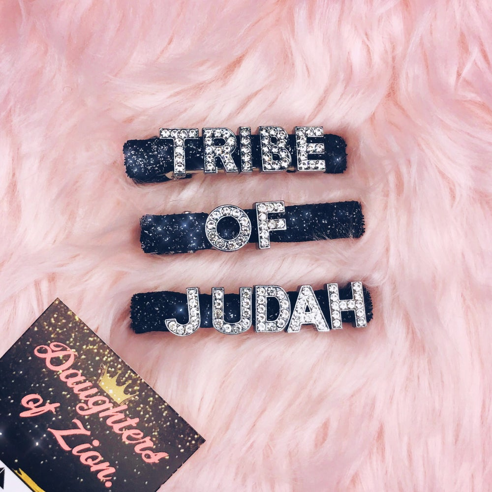 Image of Daughter of Zion Hair Clips (12 Tribes)