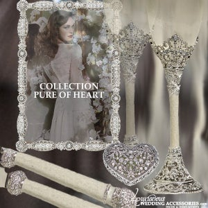 Image of Bliss Pure of Heart Wedding Collection