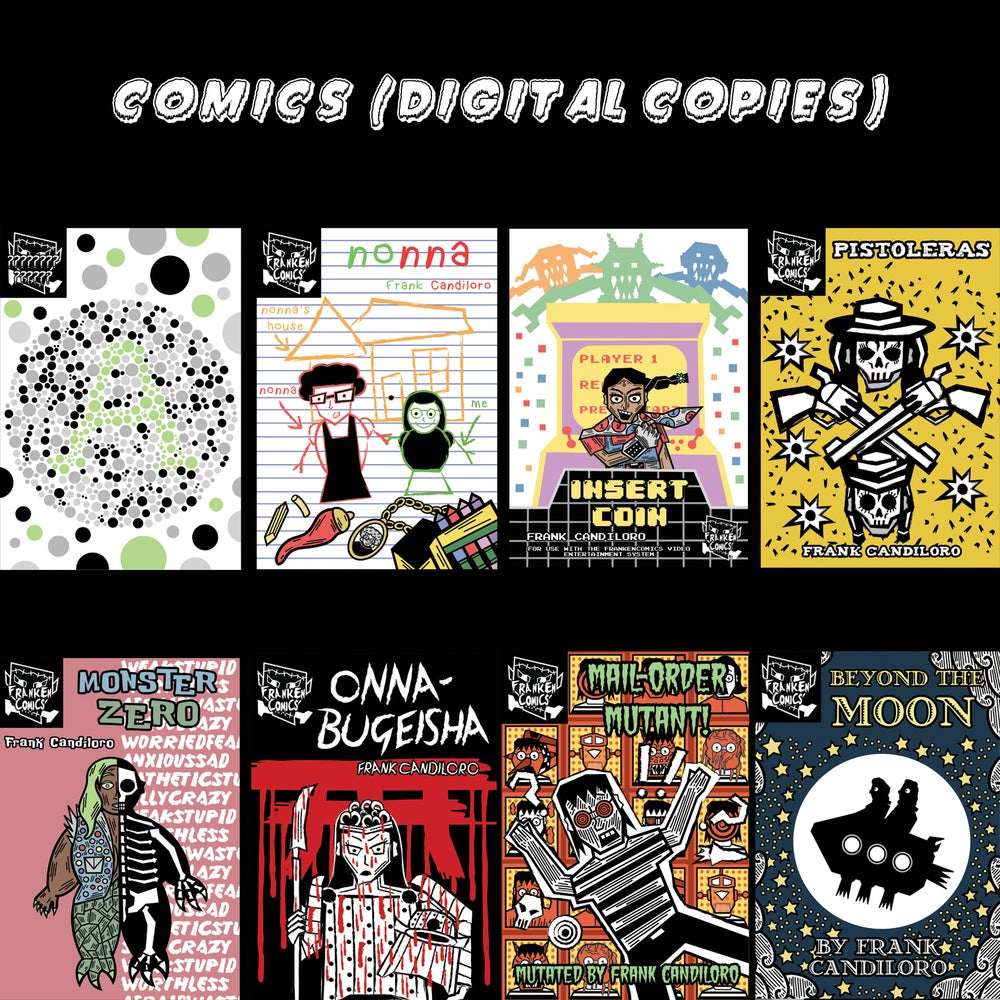 Image of Comics! (Digital Copies)