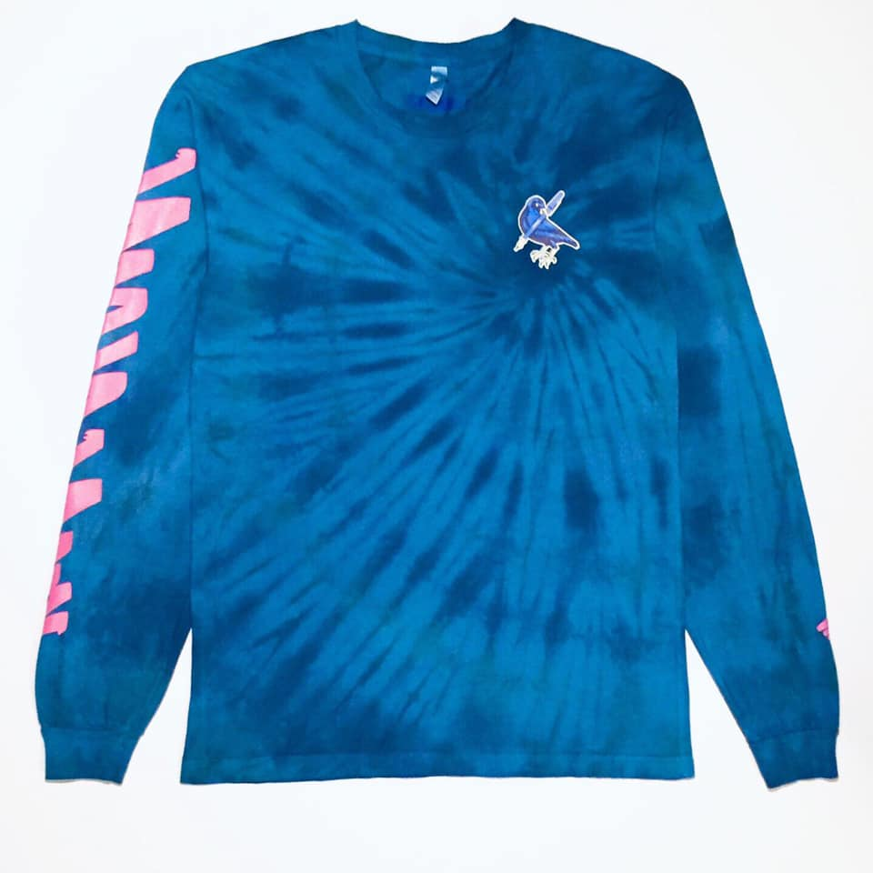 Image of *SKRBBL® Bowerbird Tie Dye L/S