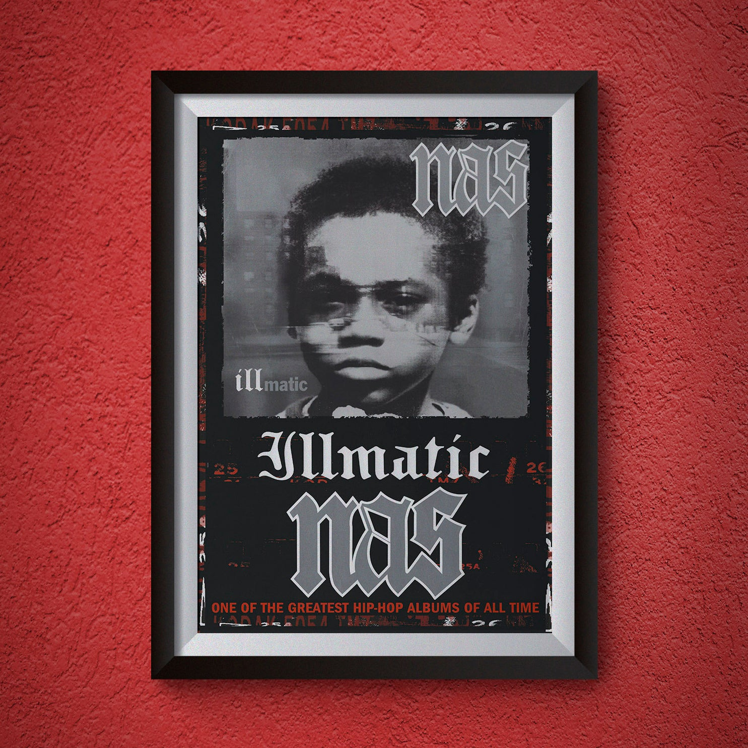 "Image of Nas ""Illmatic"" Poster"