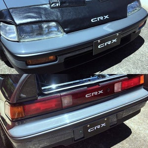 Image of CRX SHOWROOM PLATES (SET)