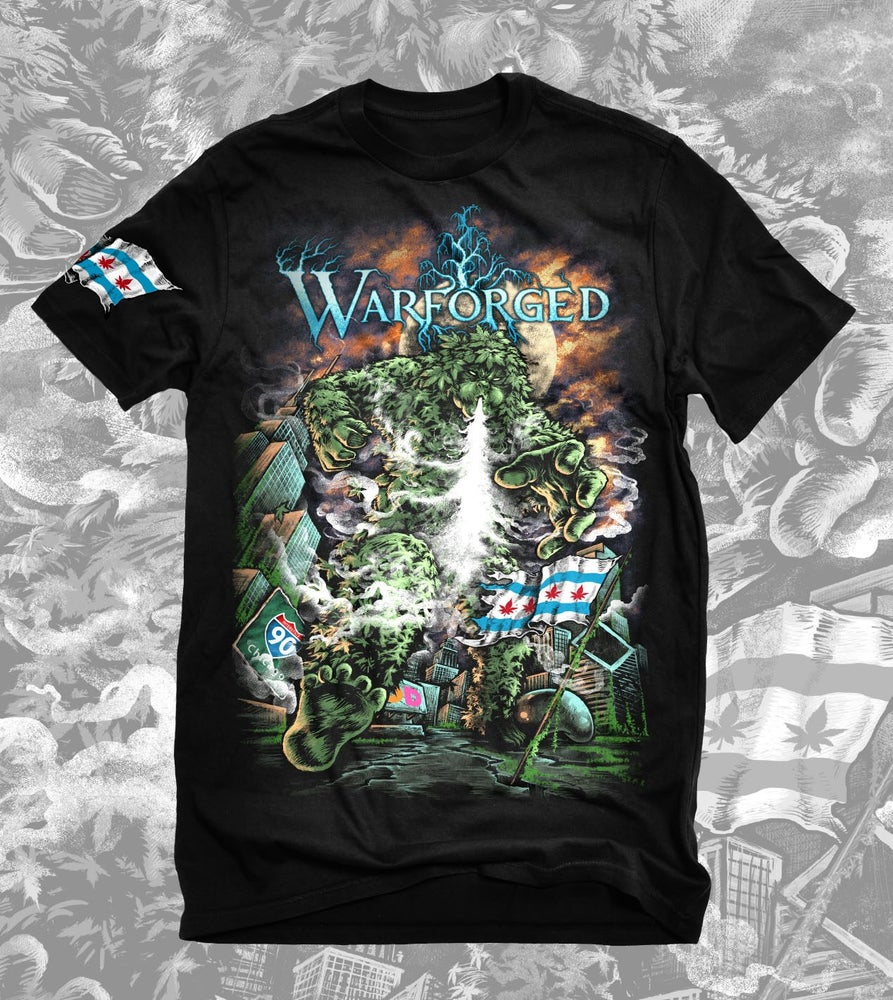 """Image of """"Weed Monster"""" Shirt"""