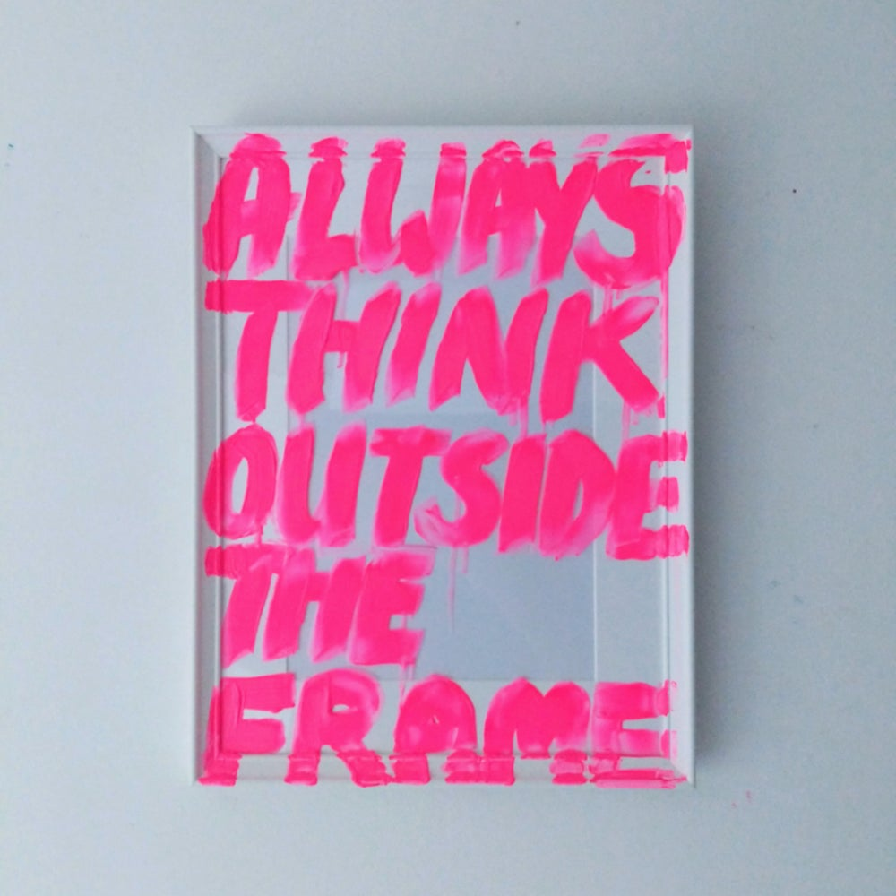 Image of THINK OUTSIDE THE FRAME 2020 (ORIGINAL)