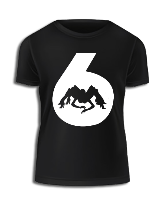 Image of Black 'Jessica 6' T Shirt