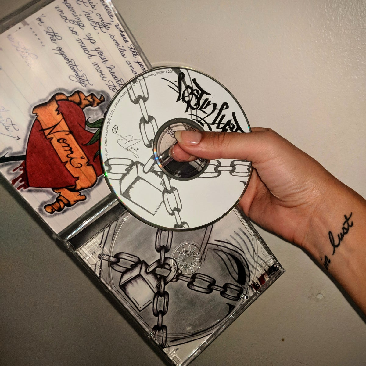 Image of 'Lost In Lust' CD