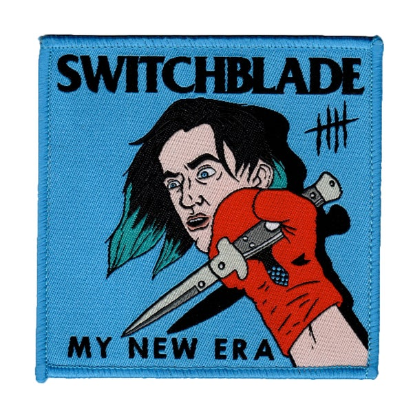 "Image of SWITCHBLADE - 3.5"" Iron-on Patch"