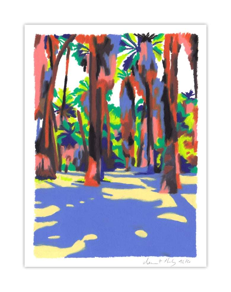 Image of Indan Canyon #09 (giclee print, A5)