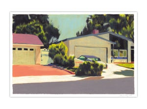 Image of Los Angeles #1 (giclee print, A4)