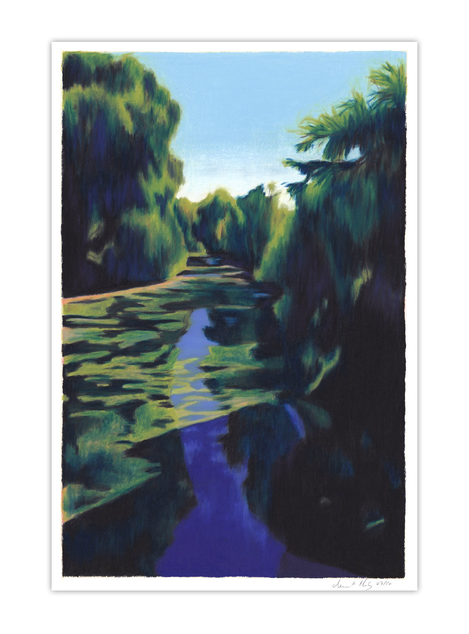 Image of L'Eure (giclee print, A4)