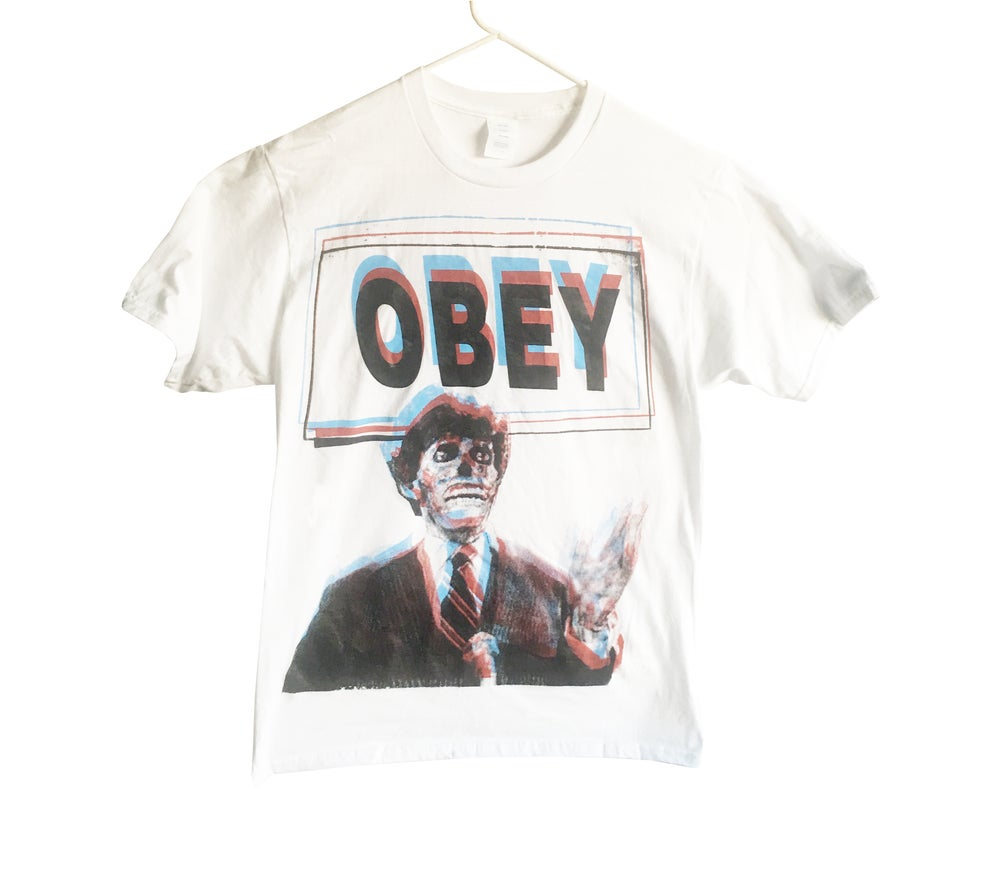 Image of They Live 'Obey' T-Shirt