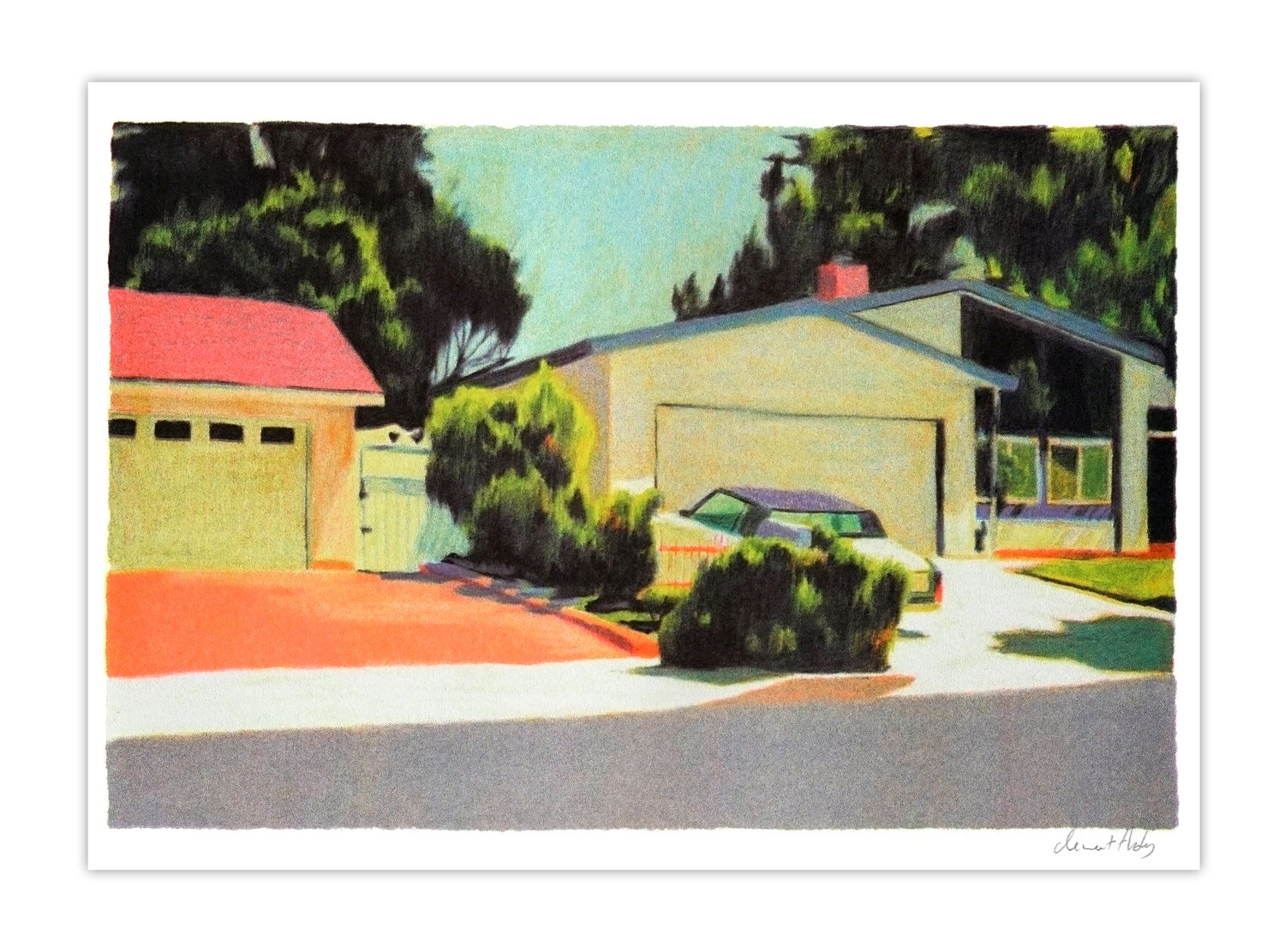 Image of Los Angeles #1 (risograph, A4)