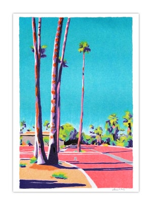 Image of Palm Springs Parking Lot (risograph, A4)