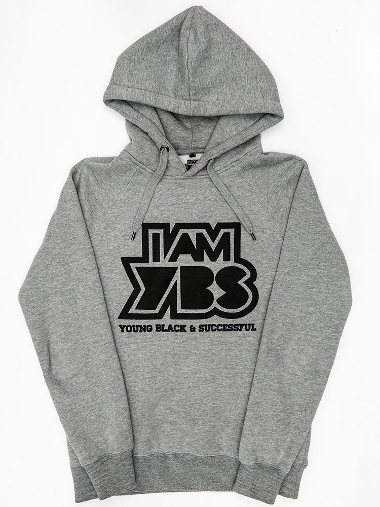 Image of I AM YBS (Limited Edition) Grey Hoodie