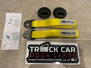 Image of Door Pull Kit - Racing Car Door Card logo