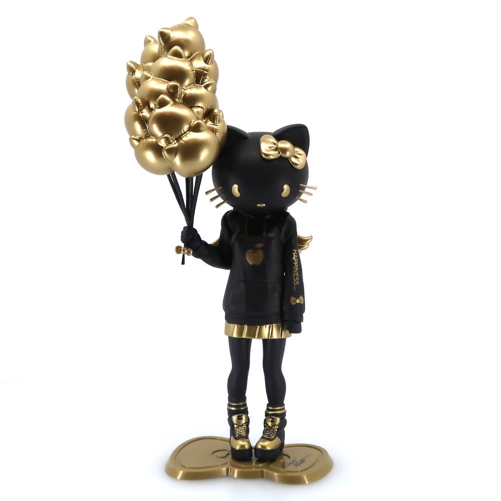 Image of SIGNED HELLO KITTY: GOLDEN GLOOM