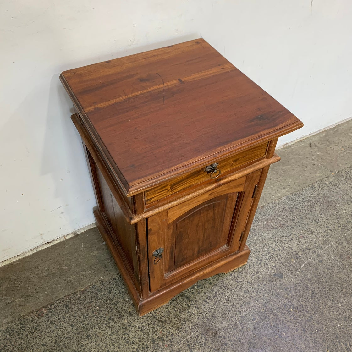Image of TEAK NIGHT STAND