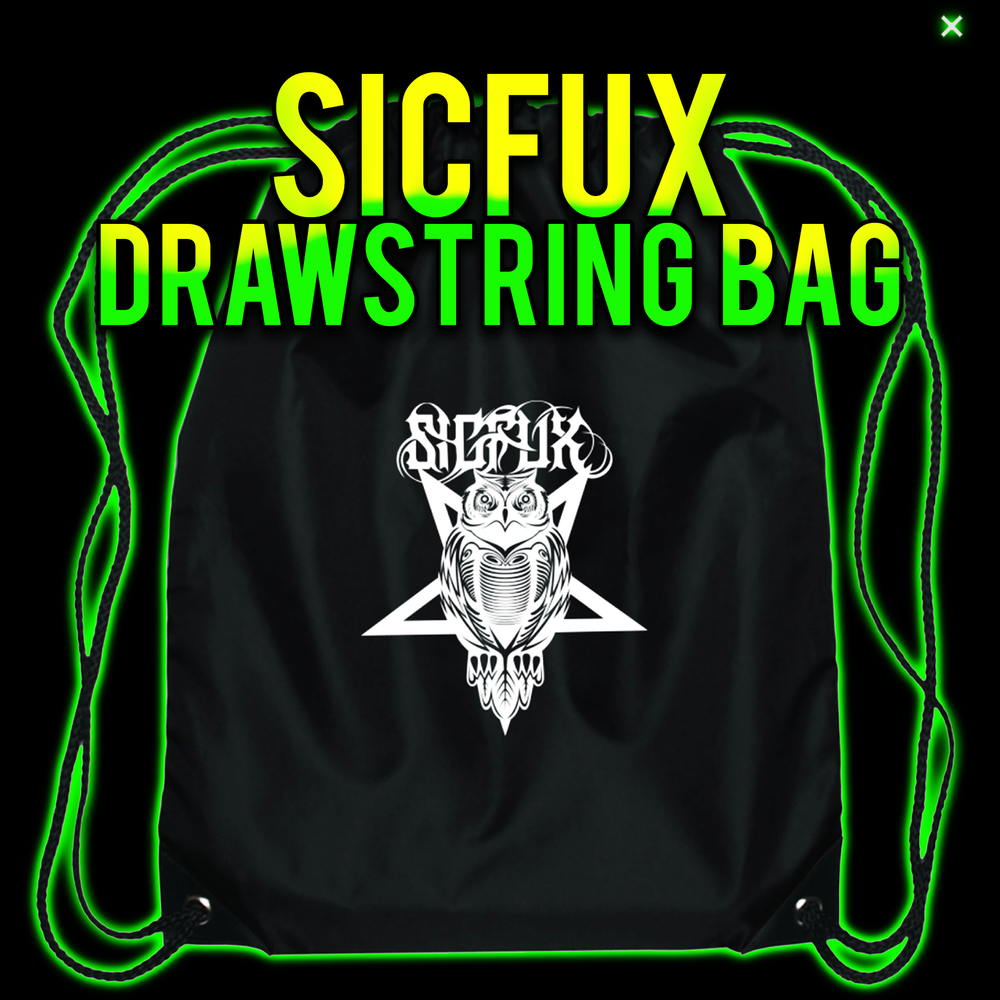 Image of SICFUX DRAWSTRING BAG